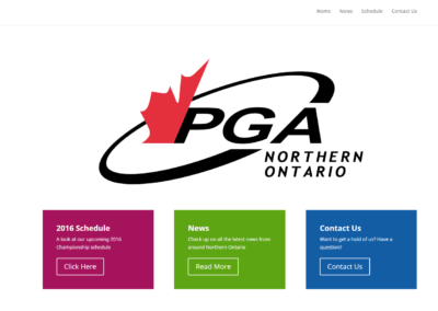 PGA of Northern Ontario